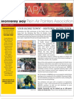 2009 V 5 Monterey Bay Plein Air Painters Association Newsletter