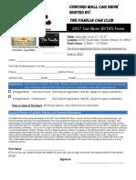 2017 Ccs Entry Form