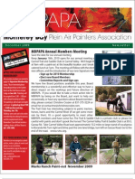 2009 V 7 Monterey Bay Plein Air Painters Association Newsletter