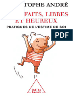 Imparfaits, Libres Et Heureux - Christophe André