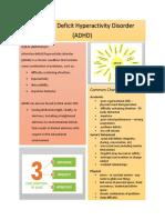 adhd factsheet