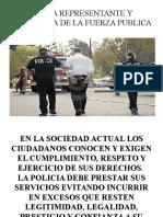 Uso de La Fuerza Publica