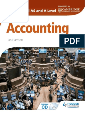 Cambridge International AS and A Level Accounting pdf