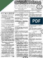 Codigo Penal 17-73 de 1973