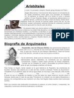 Biografia de Aristótele1