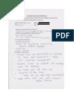 imb teacher feedback  science