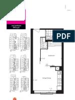 Yonge Eglinton Neon Floor Plan