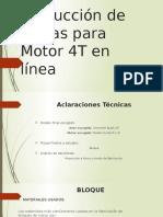 Producción de Piezas Para Motor 4T en Línea