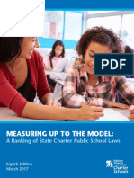 National Report on Charter School Law rankings