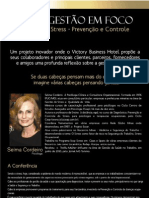 PALESTRA GESTÃO DO STRESS - PREVENÇÃO E CONTROLE