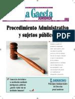 Los Sujetos Públicos en El Procedimiento Administrativo - Bolivia - Autor José María Pacori Cari