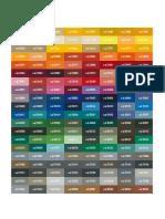 58527232 RAL Colour Chart