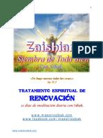 ZAISHIAM ~ 2017-TRATAMIENTO ESPIRITUAL