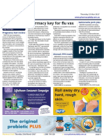 Pharmacy Daily for Thu 23 Mar 2017 - Pharmacy key for flu vax, Pregnancy test review, PSNZ awards new Fellowships, Travel Specials and much more