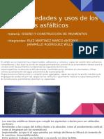 2.4 Propiedades y Usos de Los Productos Asfálticos (PAVIMENTOS)(1)