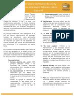 Texto Unico Ordenado de la Ley del Procedimiento Administrativo General
