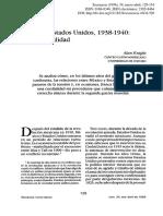 Alan Knight-México y EU 1938-1940 Rumor y Realidad