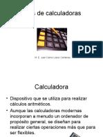 Tipos de Calculadoras