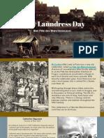 18th Century Laundry- Laundresses (Civilian)