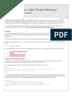 McAfee Labs Threat Advisory Ransomware SAMAS
