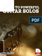3 Keys to Powerful Guitar Solos Tab Book Online