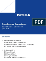 Second Transference Competence - LTE Network II