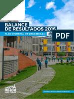 Balance Resultados Plan de Desarrollo Bogota Mejor para.pdf
