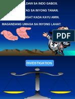 Investigation Techniques and Procedures