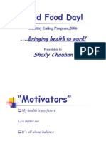 Bringing Health to Work-Shaily Chauhan