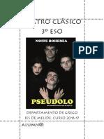 Teatro Clásico e lecturas recomendadas. 3º de ESO. curso 2016-17