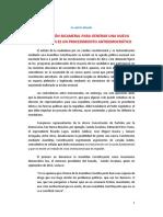 Una Comisión bicameral para generar una nueva Constitución es un procedimiuento antidemocrático, Foro por la AC, marzo de 2014.pdf