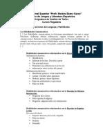 Funciones del Lenguaje y Habilidades.doc