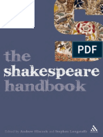 (Literature and Culture Handbooks) Andrew Hiscock, Stephen Longstaffe-The Shakespeare Handbook-Bloomsbury Academic (2009)