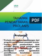 Tahapan Pendaftaran Klub Prolanis