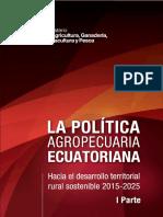 La Políticas Agropecuarias Al 2025 ECUADOR