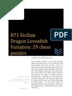 B71 Sicilian Dragon Levenfish Variation