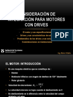 Consideración de Integración Para Motores Con Drives 2