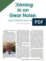 Gear Noise