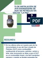 Planta envasadora de GLP, La Paz Bolivia.