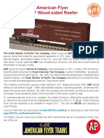A&P Wood-Sided Reefer