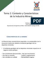 Tema 2- Contexto y Caracter Sticas de La Industria Minera