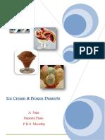 Ice Cream Frozen Dessrt