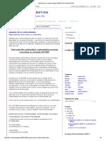 Ejemplos de No Conformidades e iso 9001:2015