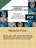 PRINSIP MIKROORGANISME PEMROSES PRODUKSI METABOLIT PRIMER.ppt