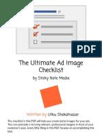 Ultimate Ad Image Checklist