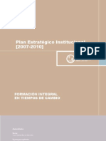Plan Estrategico PUCP 2007-2010