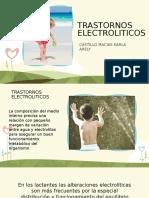 TRASTORNOS ELECTROLITICOS