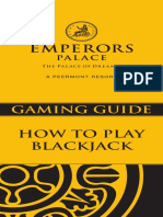 Gaming Guide How to Play Blackjack