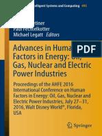 (Advances in Intelligent Systems and Computing 495) Sacit M. Cetiner, Paul Fechtelkotter, Michael Legatt (Eds.)-Advances in Human Factors in Energy_ Oil, Gas,