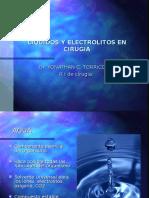Liquidos y Electrolitos en Cirugia Yona